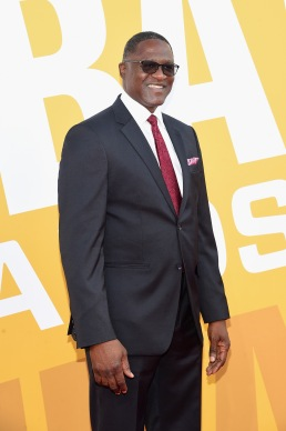 NEW YORK, NY - JUNE 26: Former NBA player Dominique Wilkins attends the 2017 NBA Awards live on TNT on June 26, 2017 in New York, New York. 27111_003 (Photo by Jamie McCarthy/Getty Images for TNT)