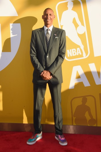NEW YORK, NY - JUNE 26: Former NBA player Reggie Miller attends the 2017 NBA Awards live on TNT on June 26, 2017 in New York, New York. 27111_003 (Photo by Jamie McCarthy/Getty Images for TNT)