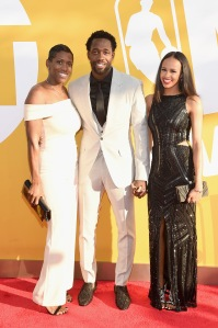 NBA Player Patrick Beverly and Family at 2017 NBA Awards Live On TNT