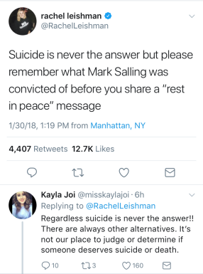 Salling Tweet